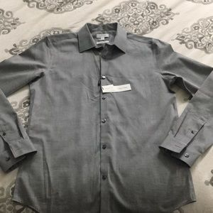 Calvin Klein slim-fit long sleeve NWT
